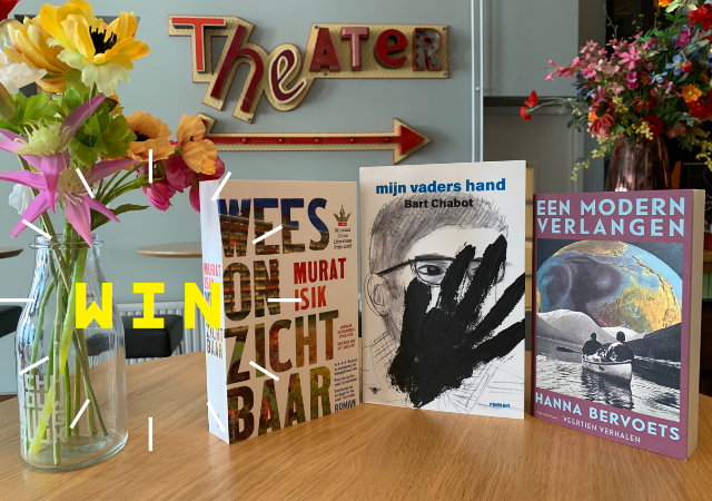 Win een boek uit de reeks Literaire Ontmoetingen