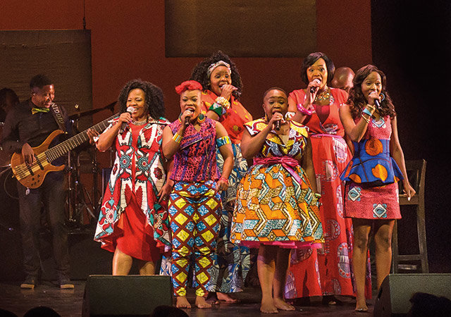 African Mamas & Leoni Jansen