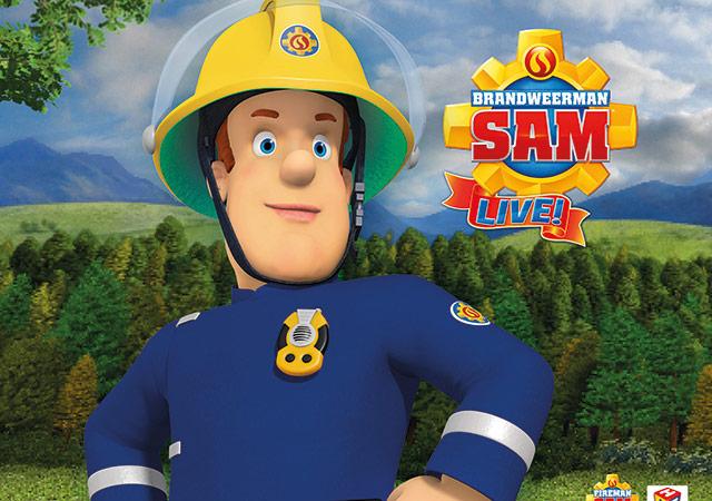 Brandweerman Sam Live! (2+)