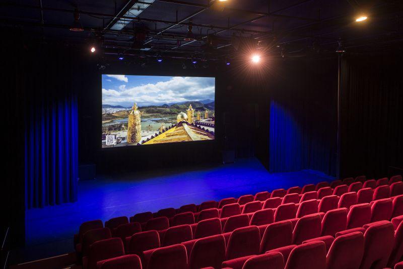 Filmtheater met bijzondere films in schouwburg
